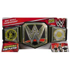 WWE Championship Title Belt Range - Assorted
