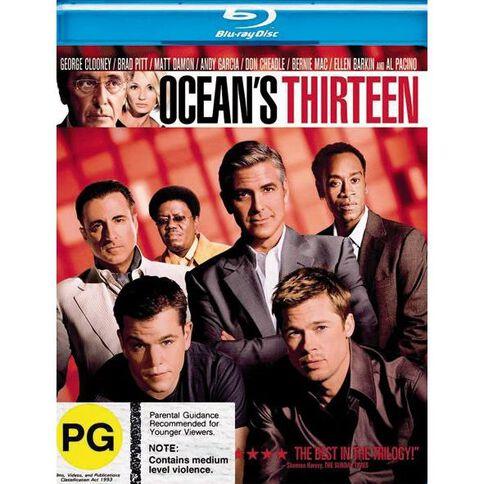 Oceans 13 Blu-ray 1Disc