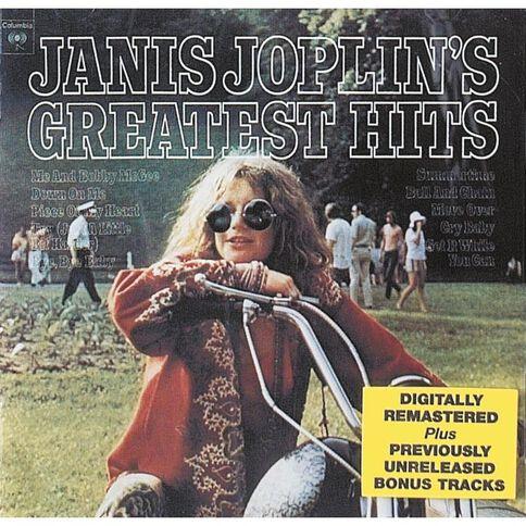 Greatest Hits CD by Janis Joplin 1Disc