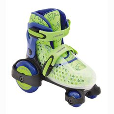 Roller Skates Green/Purple Size 7-11