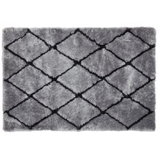 Maison d'Or Limited Edition Rug Diamond Silver/Ink 1.5m x 2.2m
