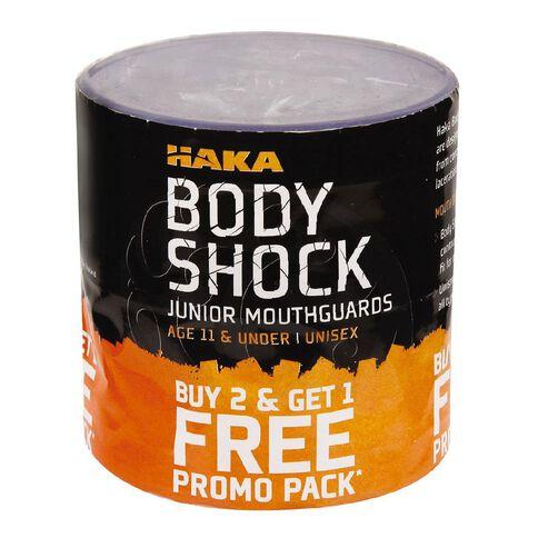 Haka Mouth Guard Clear Junior 3 Pack