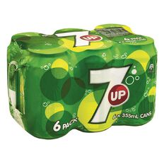 7up Cans 355ml 6 Pack