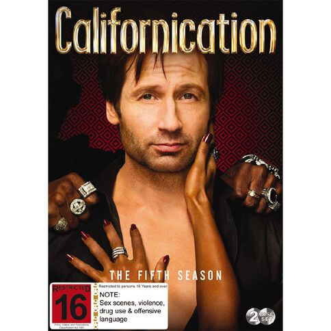Californication Season 5 DVD 1Disc