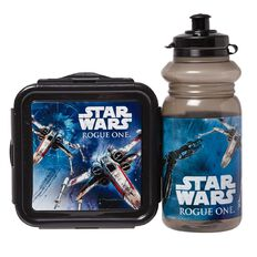 Star Wars Disney Snack Box & Drink Bottle Set