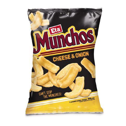Eta Munchos Cheese Onion 100G