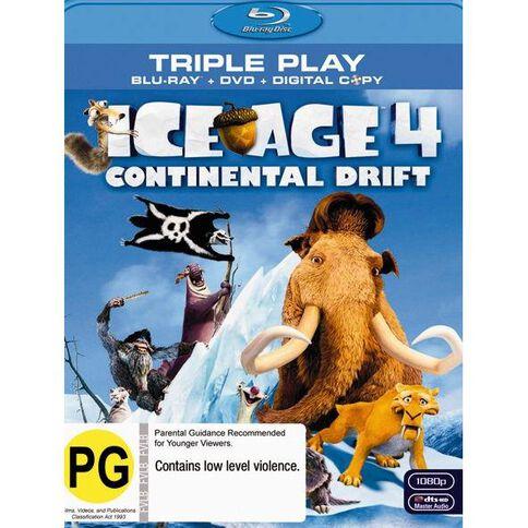 Ice Age 4 Blu-ray/DVD 2Disc