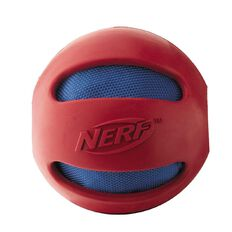 NERF Dog Classic Crunch Ball Red 4 inch Medium