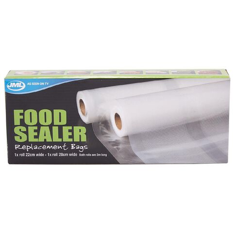Food Sealer Refill Bags
