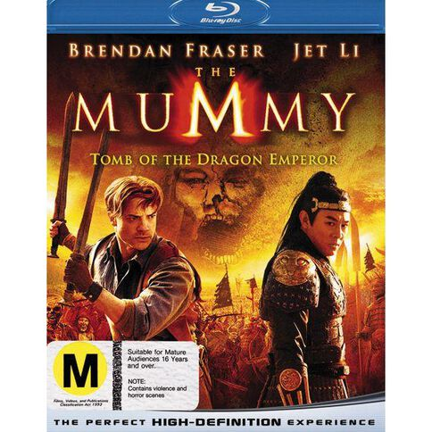 Mummy The Tomb Of The Dragon Emperor Blu-ray 1Disc