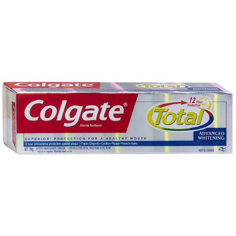 Colgate Total + Whitening Toothpaste 190g