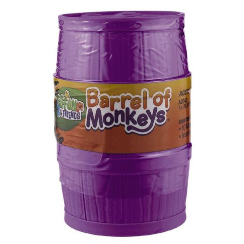 Barrel of Monkeys Game Assorted Colours