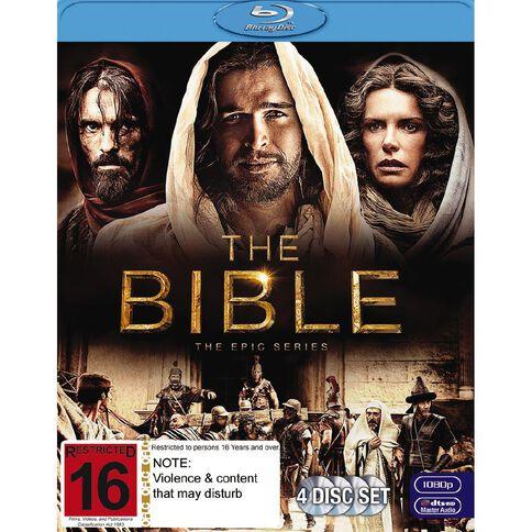 The Bible Blu-ray 4Disc