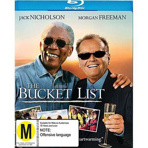 The Bucket List Blu-ray 1Disc