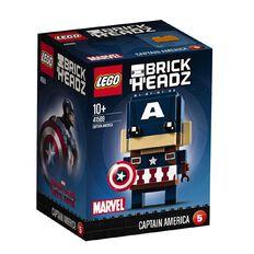 Marvel LEGO Brickheadz Captain America 41589