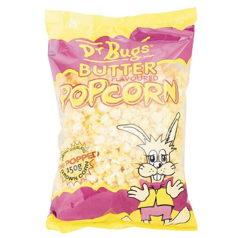 Dr Bugs Buttered Popcorn 150g