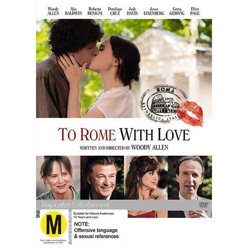 To Rome with Love DVD 1Disc