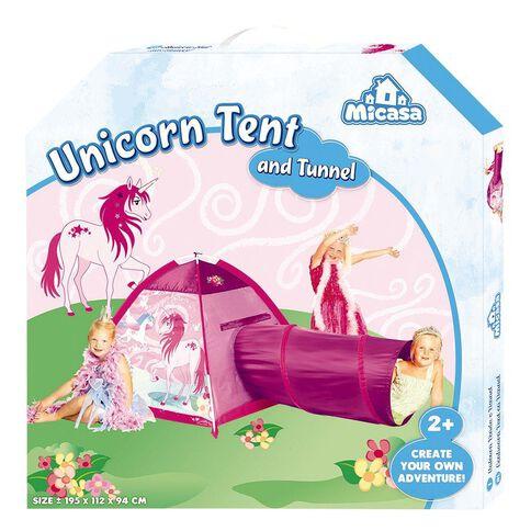 Unicorn Tent & Tunnel
