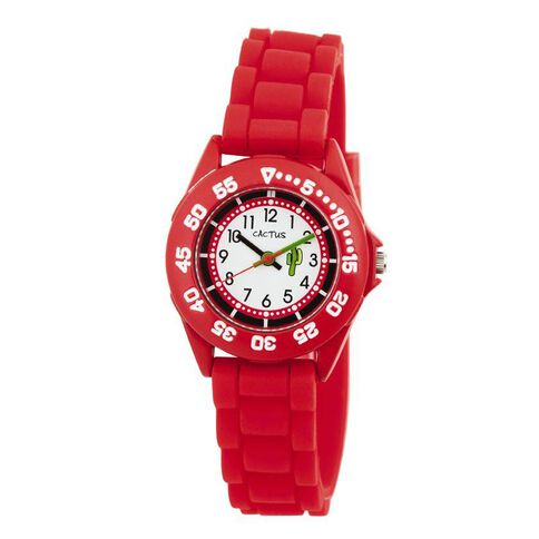 Cactus Kids' Watch Red CAC-58-M07