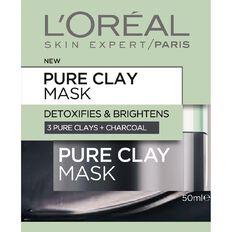 L'Oreal Paris Pure Clay Mask Detoxify & Brighten 50ml