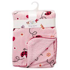 Lullaboo Sherpa Blanket Girls