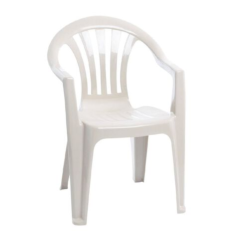 Taurus Home Products Resin Chair White