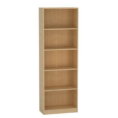 Living & Co Bookcase Birch 5 Tier