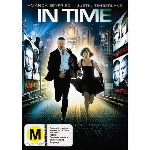 In Time DVD 1Disc