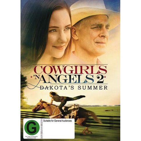 Cowgirls & Angels 2 Dakotas Summer DVD 1Disc