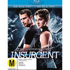 Insurgent 3D Blu-ray 1Disc