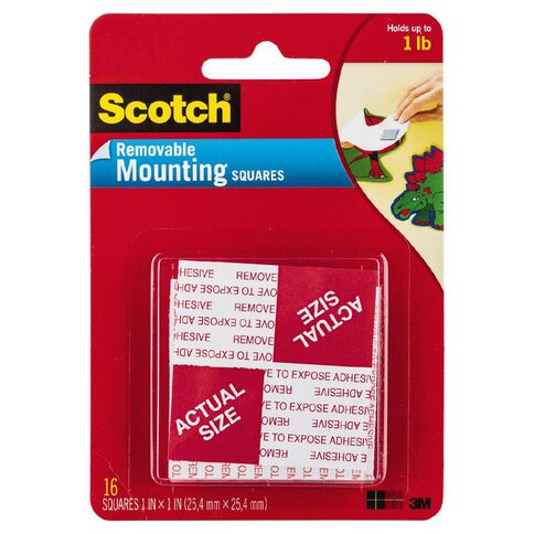 Scotch Removable Mounting Square 108