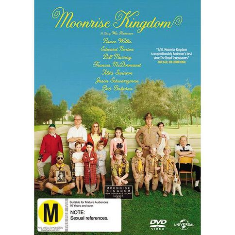 Moonrise Kingdom DVD 1Disc