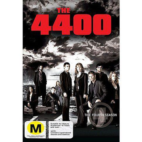 The 4400 Season 4 DVD 4Discs