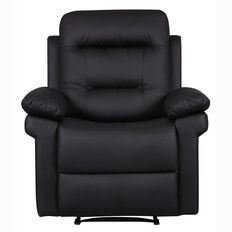 Reside Recliner Chair Black