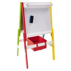 Kids Caboodle Easel Bright/White Rainbow
