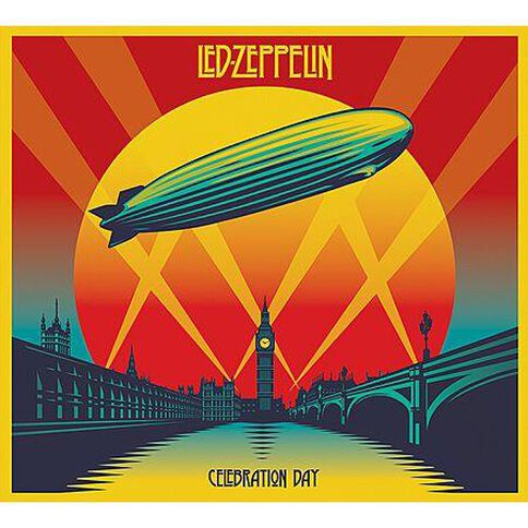 Celebration Day Deluxe Edition CD/DVD/Blu-ray by Led Zeppelin 5Disc