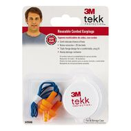 3M Corded Reusable Earplugs