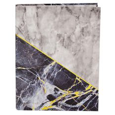 Stylo Marble Ring Binder with Gold Foil