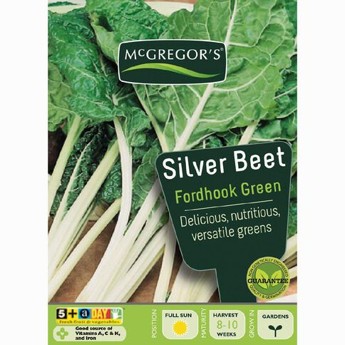 McGregor's Fordhook Green Silverbeet Vegetable Seeds