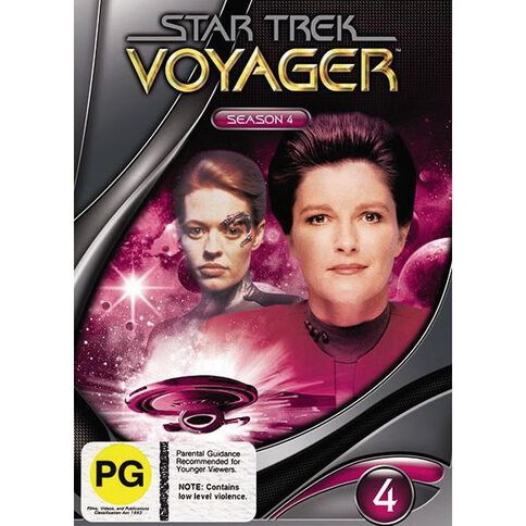 Star Trek Voyager Season 4 DVD 1Disc