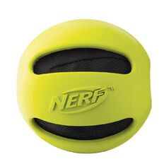 NERF Dog Classic Crunch Ball Green 4 inch Medium