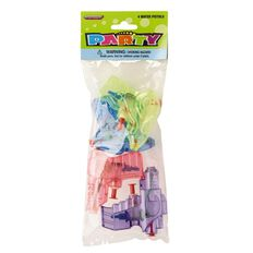 Meteor Party Favours Water Pistols 4 Pack