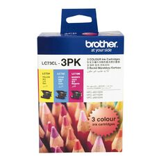 Brother Ink Cartridge LC73CL3PK Colour 3 Pack