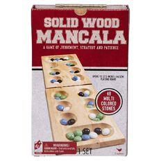 Wooden Folding Mancala Game