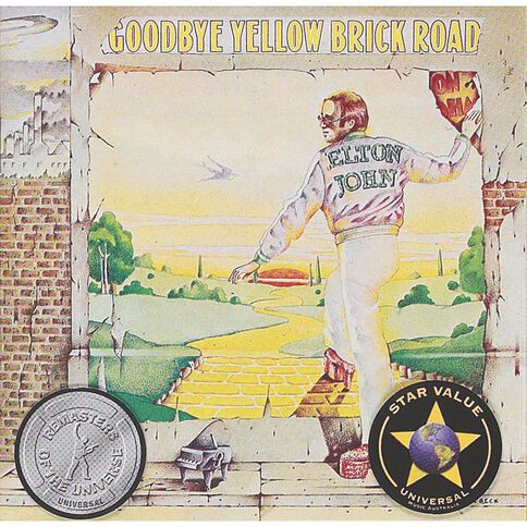 Goodbye Yellow Brick Road CD by John Elton 1Disc