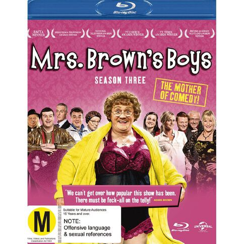 Mrs Browns Boys Season 3 Blu-ray 1Disc