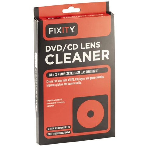 Fixity Lens DVD/CD Laser Lens Cleaner