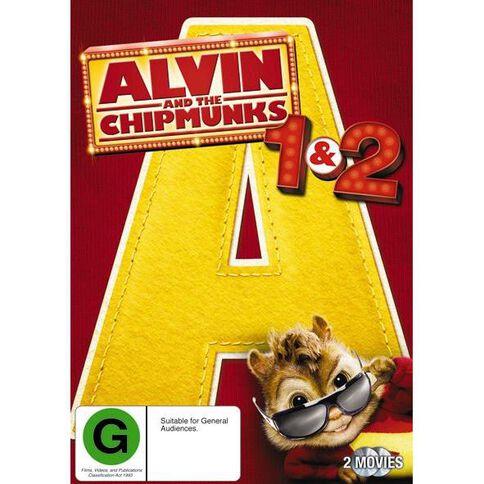 Alvin and The Chipmunks/Alvin & The Chipmunks 2 DVD 2Disc
