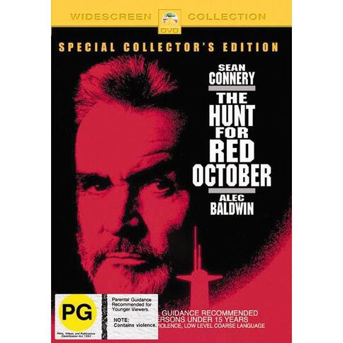 The Hunt For Red October DVD 1Disc