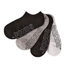 Bonds Women's No Show Socks 4 Pack